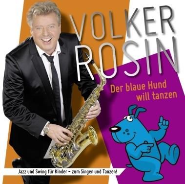 CD Cover Der blaue Hund will tanzen