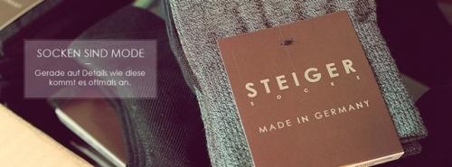 2 Socken sind Mode